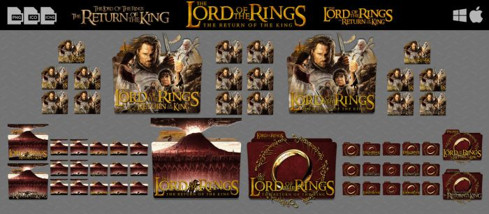 The Lord of The Rings The Return of The King by DhrisJ