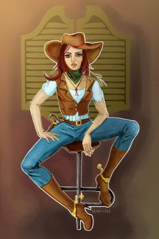 wild wild west by mimifeat