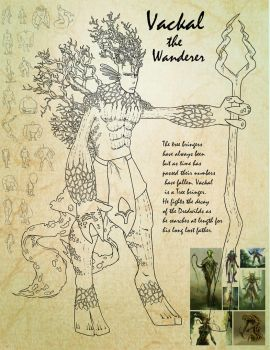 Vackal the Wanderer by Kaiden-Jackson