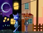 Night on the woods OC by albimola