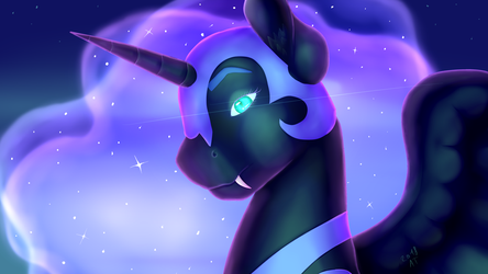 Nightmare Moon by AmbreaTaddy