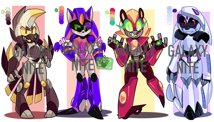 Robian Adoptables (Closed) by Galaxynite