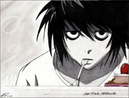 L - Death Note by dhffy
