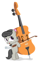Lil' Octavia's Cello [!P] by dm29