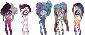 Xynthii: Children Adopts: CLOSED/PENDING by ObsceneBarbie