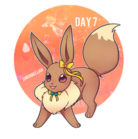 Pokemon December Challenge day 7 by Chronnellian