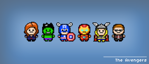 The Avengers by heeycah