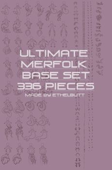 Ultimate Base Merfolk Expansion, 336 Pieces! by Ethelbutt