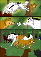 Wolf Song Page 3 by ShroudofShadows