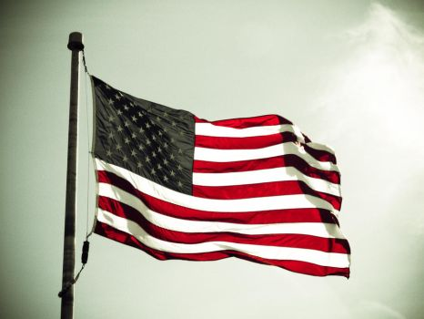 American Flag 3 stock by ksouth