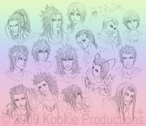 KH2 - The Faces of Orgy XIII by Nijuuni