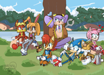 Sonic And The Freedom Fighters by TheDarkShadow1990