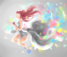 the soul of the colors by ToryoNoDoroppu