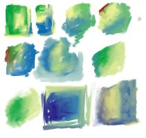 Traditional Media Digital Oil Mixer Brushes by rustydoubleohseven
