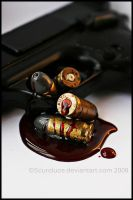 Bullets For Blood by scuroluce