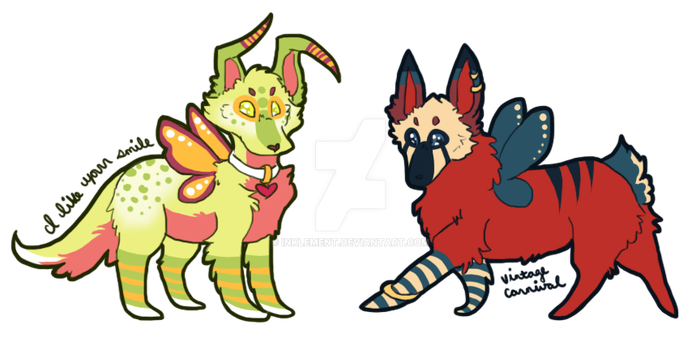 [$3 - OPEN 1/2] - [Sketch Doggos] - [Adopts] by Inklement
