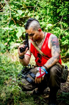 Vaas Montenegro - Far Cry 3 by Paper-Cube