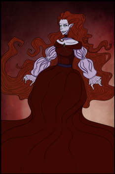 Lady in Red by Ombre-de-clause