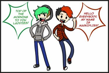 Jack and Mark - Adventure Time! by Queen-Of-Cute