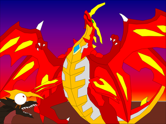 Drago bigger than Helios by Shelby95