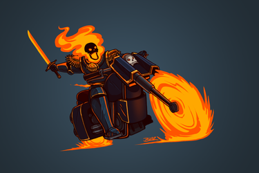 Flame of Solace by Blazbaros