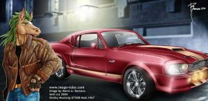 Seth_ Shelby Mustang by Magolobo