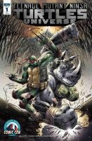 TMNT Universe #1 CSCC Exclusive Cover by IanNichols