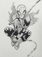 Spider-Man inks  by ethancastillo