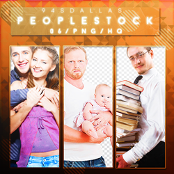 Pack People Stock Png by 94sDallas