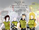 Lance RWBY, in Memory of Monty Oum by GhostBear3067