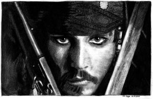 PiratesOfTheCaribbean No1 by EwaBlackWidowVsHare