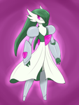 Gardevoir(Valiant) by LurkingTyger