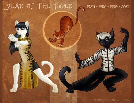 Year of the Tiger by gabfury