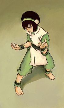 Toph Equals Awsome by DoodleBuggy