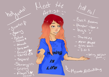 Meet The Artist by all-but-nothing