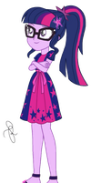 EQG Series - Sci-Twi in resort wearing by ilaria122