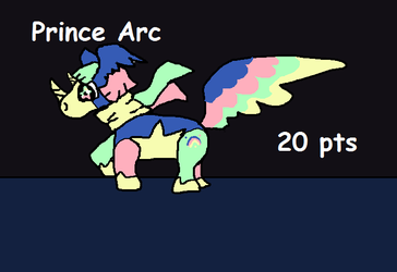 MLP Adoptable: Prince Arc (Closed) by SonicLover1523