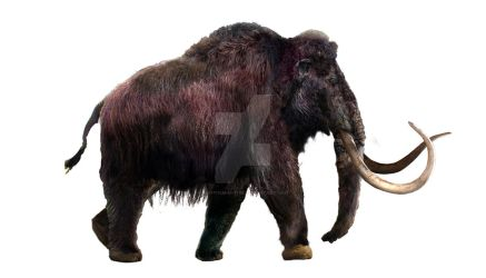 Woolly Mammoth - WIP part 6 by Dantheman9758