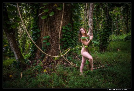 Tangled Up In You by aFeinNude