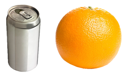 Orange and can PNG by Jujoy1990