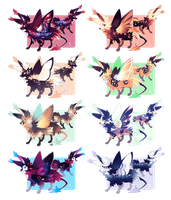 [CLOSED] Lepitsune Batch - Autumn Edition! by jaywalkings