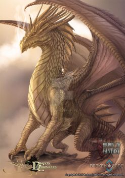 Dragon Chronicles - Divine Dragon by RobertCrescenzio