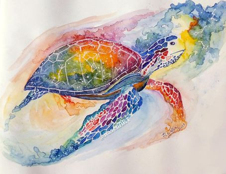 Beyond Impossibility ~ Watercolour Painting by jiasen