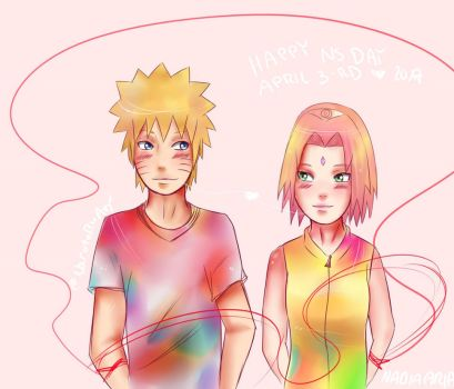 NaruSaku day 2017 by NarutoByAri