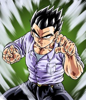 Gohan DBM powering up by BK-81