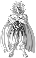 Unfinished Lord Boros Art by Kryptid