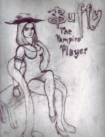 buffy the vampire player by megamike75
