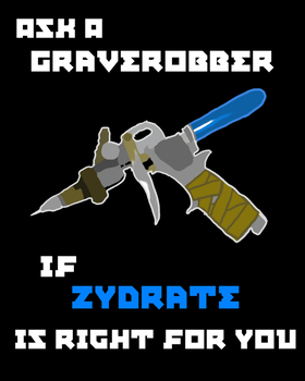 Zydrate Poster by LoyalVampireKat16