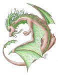 Oriental Earth Dragon by Scellanis