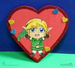 A Hug from Link for Valentine's Day! (Red) by MeMiMouse